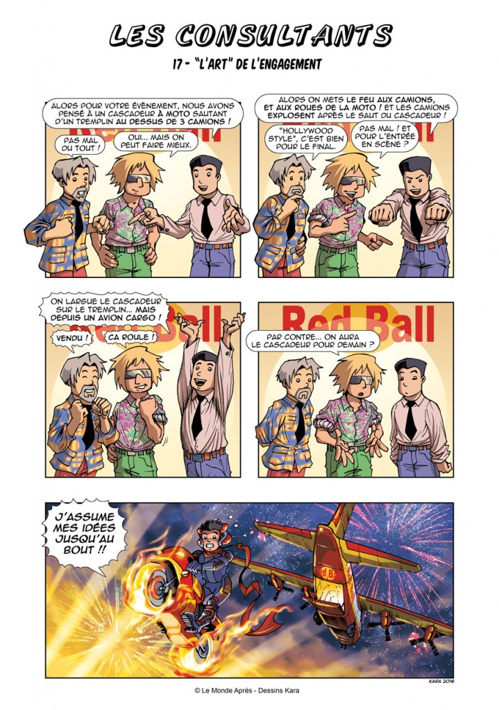 "BD Les Consultants N°17 : ""L'art"" de l'engagement"